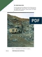 Metodos de Perforación subterranea