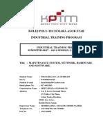 practical trainee report