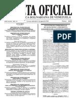 Gaceta Oficial Nº 40.978 - Notilogía