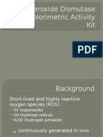 Superoxide Dismutase (SOD) Colorimetric Activity Kit