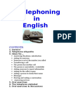 Telephoning Seminar Book