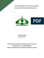 Disaster Management Longsor