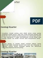 Geologi Kuarter 1