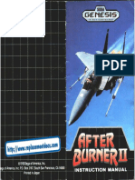 After Burner II - Manual - GEN
