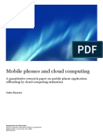 A Quantitative Research Paper on Mobile Phone Application