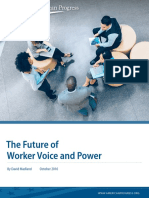 The Future of  Worker Voice and Power