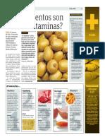 ¿Que Alimentos Son Ricos en Vitaminas?