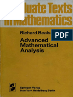 012 - Advanced Mathematical Analysis.pdf