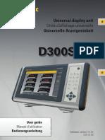 Sylvac D300S English Manual