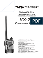 Yeasu VX 7R Manual