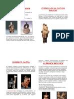 Ceramicas de Las Culturas