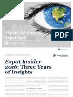 Expat Insider 2016 the Internations Survey
