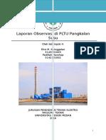 Laporan Observasi Di PLTU Pangkalan Susu (Edited)