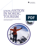 Innovation in Nordic Tourism Norden Report 2011