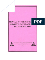 Manual on the Disposition of SL Case