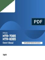 HTR 7065 Manual