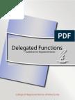 Delegation Functions