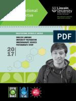 Lincoln University - International Prospectus