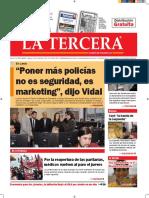 Diario La Tercera 06.09.2016