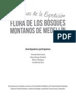 Flora de los bosques montanos de Medellín