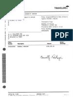 ST Tammany Parish Sheriff Police Travelers Insurance Policy 2011