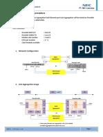 IPasolink Link Aggregation Test Procedure Rev12Dec2011