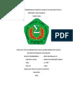 Analisis Spasial Persebaran Warung Makan Di Jakarta Pusat Cover Daftar Isi