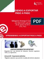 Exportar Paso a Paso
