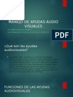 Manejo de Ayudas Audio Visuales