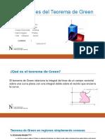 Diapositivas Aplicaciones Del Teorema de Green.
