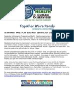 Natl Preparedness Mth Flyer