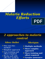 Malaria Reduction Efforts