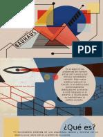 Funcionalismo y Bauhaus