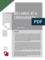 2016 Nr 02 Belarus at a Crossroads [Marek Dąbrowski]