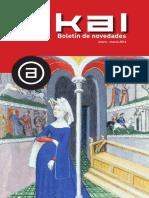 Boletín Novedades AKAL 1-2016 (Baja)