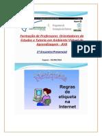 apresentação Netiqueta