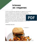 5 Deliciosas Recetas Veganas