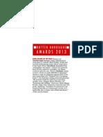 PE5 Awards 2013