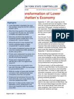 Lower Manhattan Report