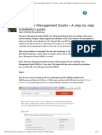 SQL Server Management Studio - A Step-By-step Installation Guide