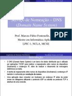 Serviço de Nomeação - DNS (Domain Name System)