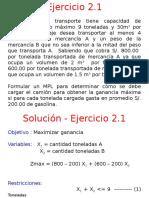 S01 - 2 Ejercicios