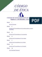 Código de Ética Fonoaudiología