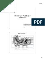 Audiologia y Vestibular