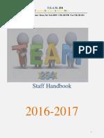 staff handbook 16-17
