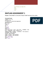 MATLAB 1 Solution.pdf