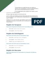Asociaciones de consumidores en Chile