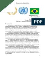 Ejemplo de Documento de Posicion
