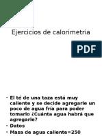 Ejercicios de Calorimetria (1)