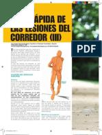 26º Guía Rápida de las Lesiones del Corredor 3 (Planeta Running).